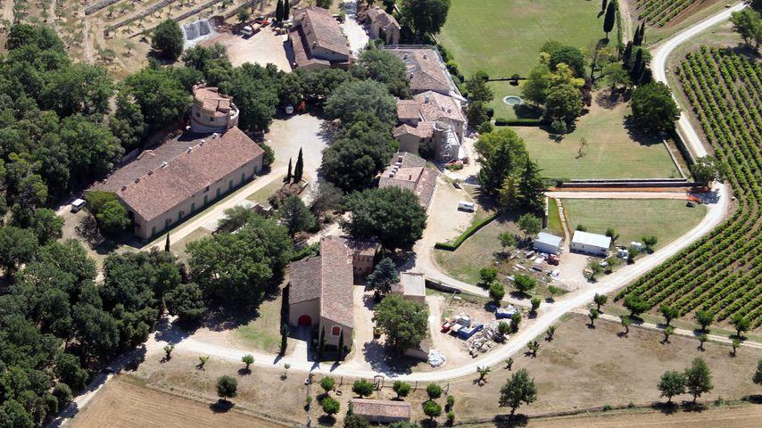 Das Weingut Château Miraval in Correns in Frankreich