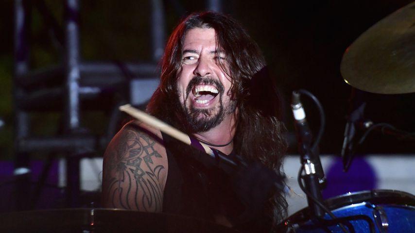 Dave Grohl auf der Bühne