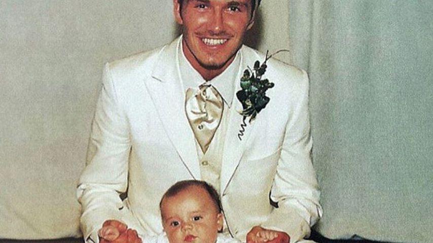 """""""Dumm und Dümmer""""! Das war David Beckhams Hochzeits-Look"""