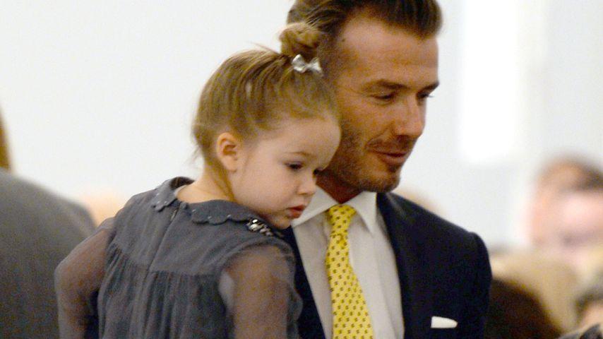 """David Beckham: """"Minion""""-Tattoo für Töchterchen Harper"""