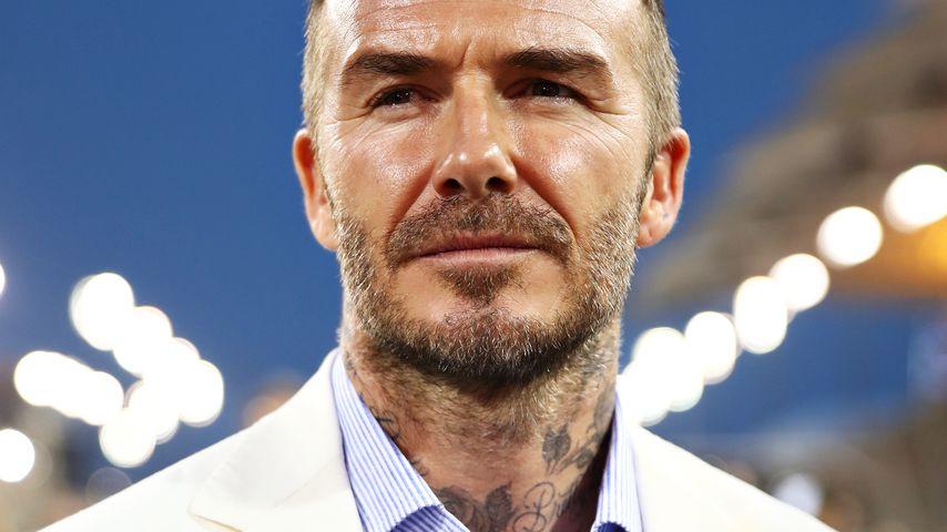 David Beckham beim Formel 1 Grand Prix in Bahrain im März 2019