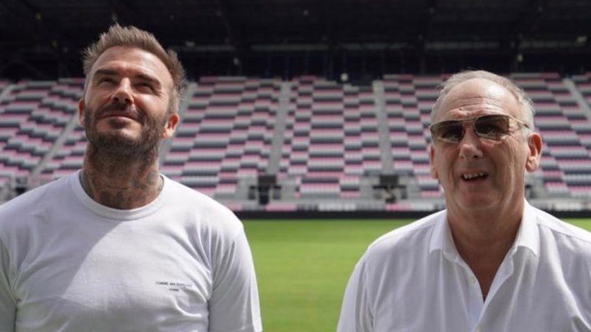 Zum Geburtstag! David Beckham teilt seltenes Foto mit Vater