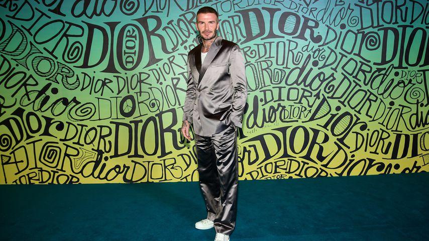 Fast kahl: David Beckhams Haar wird immer dünner
