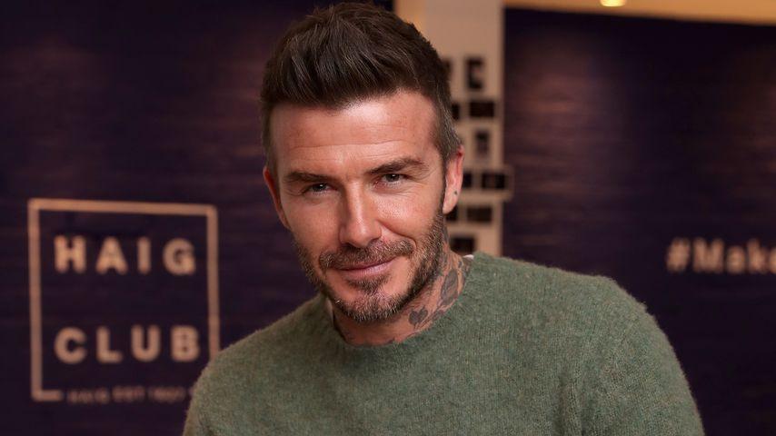 David Beckham im Jahr 2019