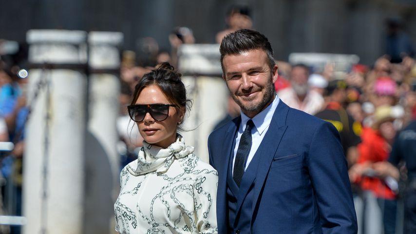David Beckham und Victoria Beckham 2019 in Spanien
