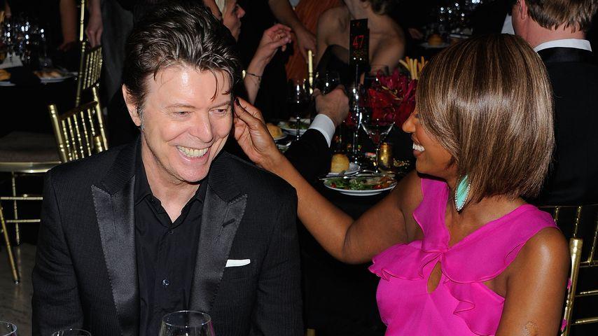 David Bowie und Iman bei einer Veranstaltung in New York