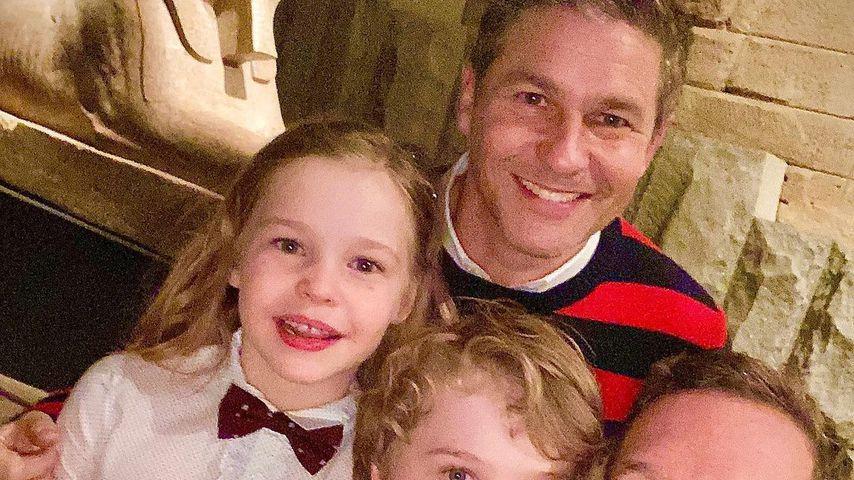 David Burtka und Neil Patrick Harris mit ihren Kindern Harper und Gideon