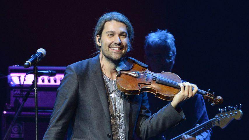 David Garrett bei einem Auftritt in Sao Paolo im November 2017