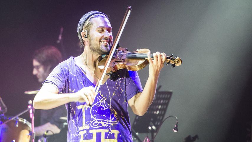 David Garrett bei einem Auftritt in Mailand