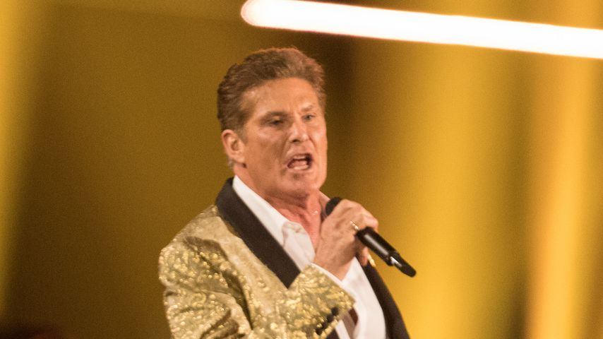 David Hasselhoff beim internationalen Schlagerfest 2017