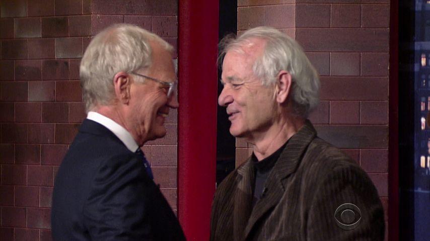 David Letterman und Bill Murray