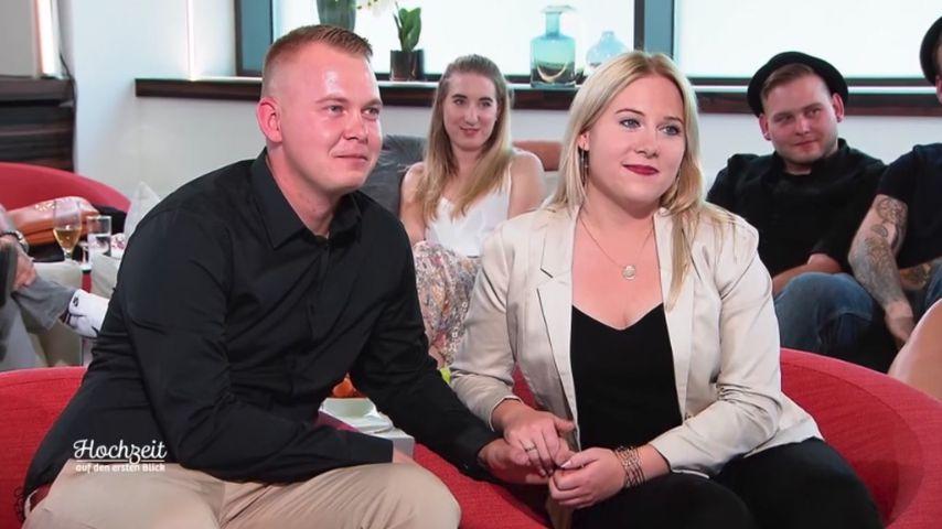"""David und Nicole im Finale von """"Hochzeit auf den ersten Blick"""""""