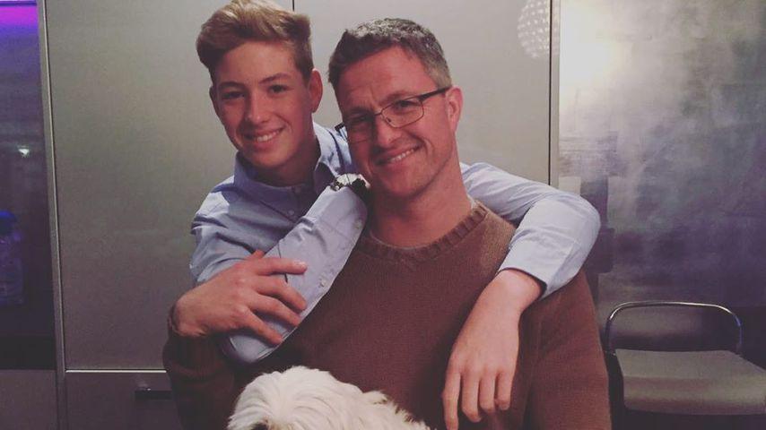 Ralf Schumacher mit seinem Sohn David