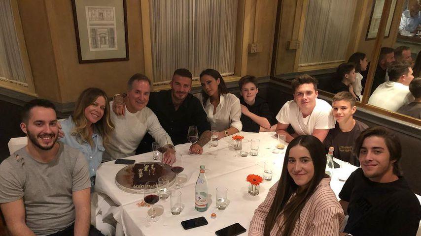 Nach Trennungs-Gerüchten: David Beckham postet Family-Pic!