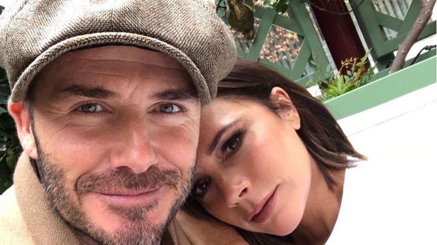David Beckham nimmt seine Victoria ziemlich auf die Schippe!