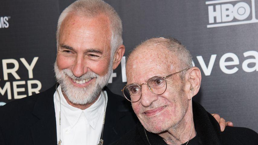 David Webster und Larry Kramer