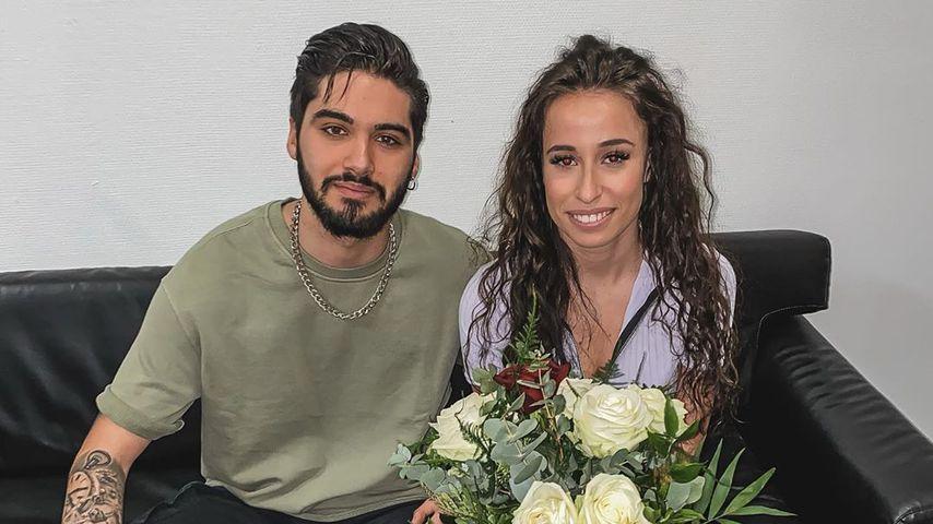 Liebes-Comeback? Davide überrascht Siria mit Blumenstrauß!