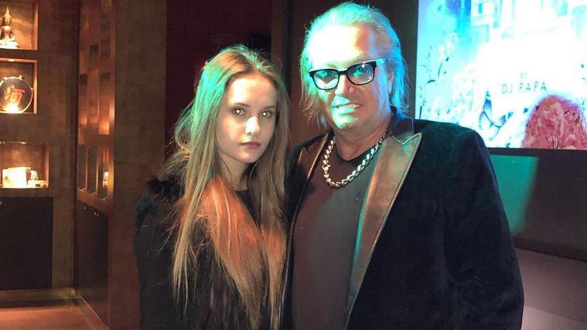 Davina und ihr Papa Robert Geiss