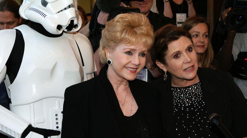Debbie Reynolds und Carrie Fisher 2005