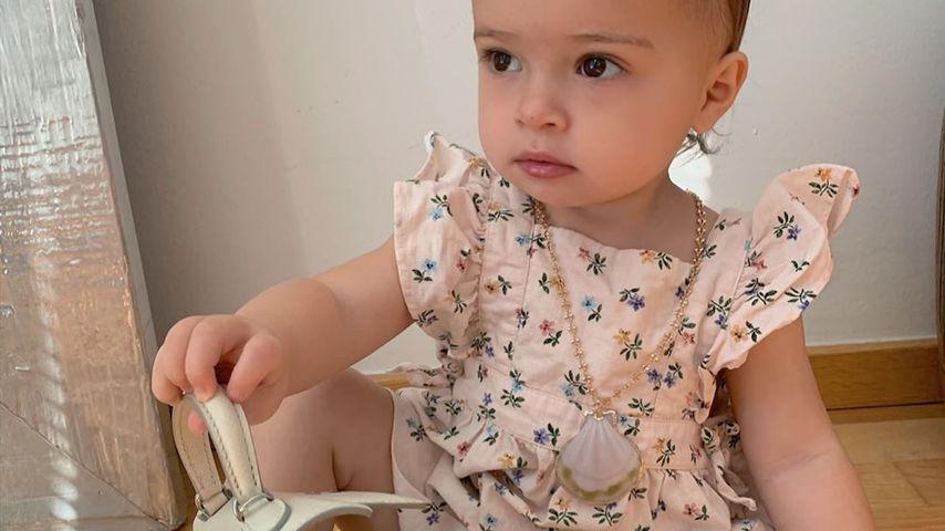 Delia, Tochter von Hanna und Jörn Schlönvoigt, 2019