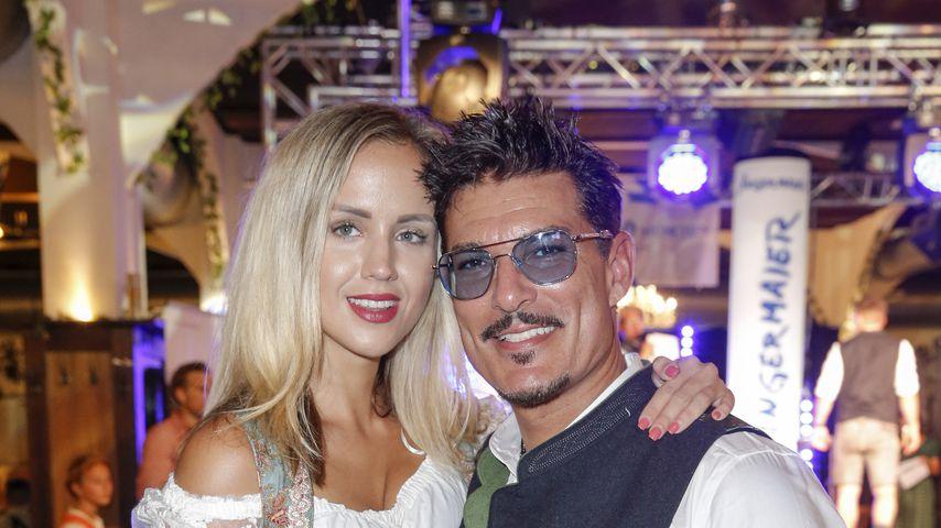 Delia und Chris Töpperwien bei der Angermaier Trachten-Nacht in Berlin