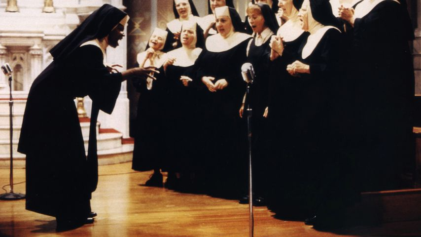 "Deloris-van-Cartier-Darstellerin Whoopi Goldberg in ""Sister Act – Eine himmlische Karriere"""
