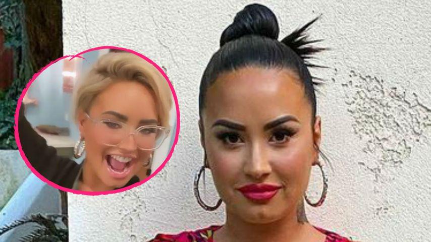 Demi Lovatos Stylistin verrät: Darum wollte sie neue Frisur