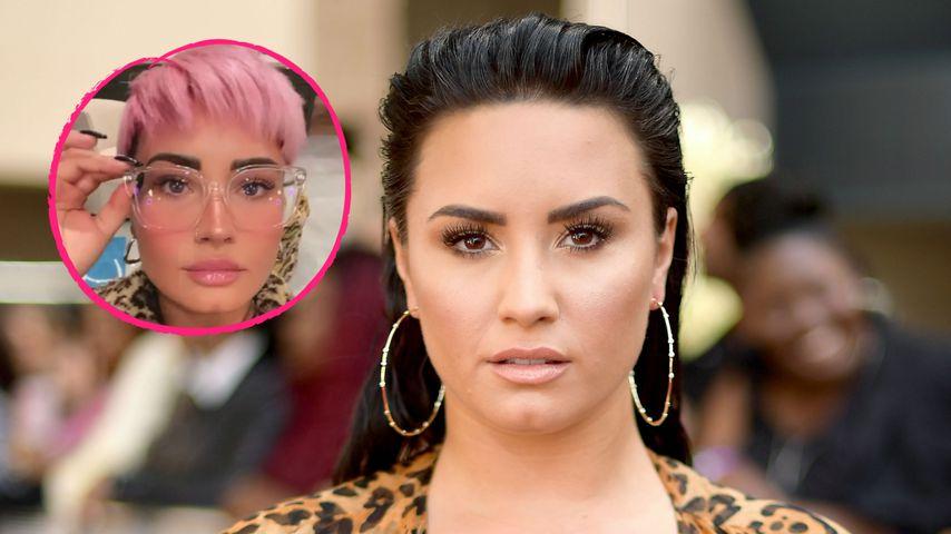 Nach Ankündigung: US-Sängerin Demi Lovato trägt neue Frisur