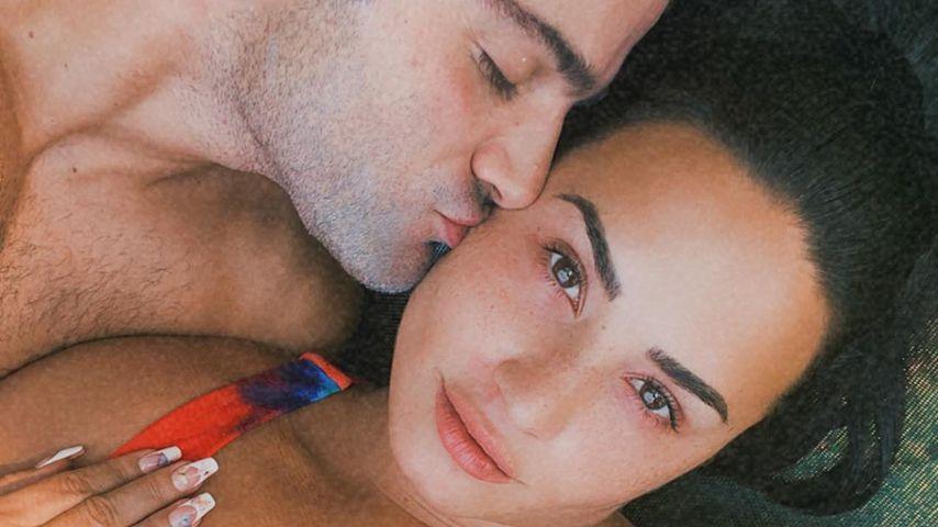 Max Ehrich und Demi Lovato, August 2020