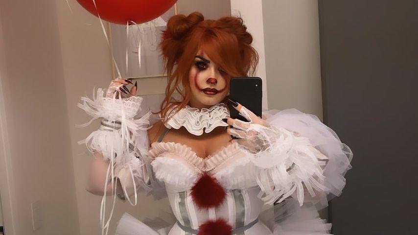 Demi Lovato auf ihrer Halloween-Party 2019