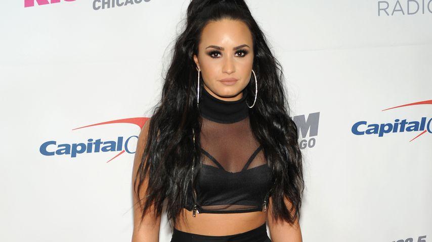 Demi Lovato bei Kiss FM's Jingle Ball in Rosemont im Dezember 2017