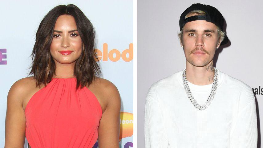 Demi Lovato sah Justin Bieber in der Krise als Inspiration