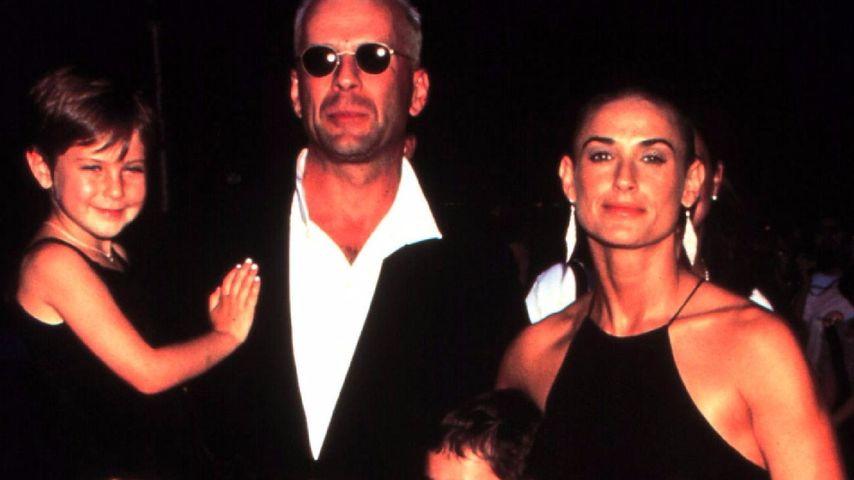 Hollywood-Stars Bruce Willis und Demi Moore