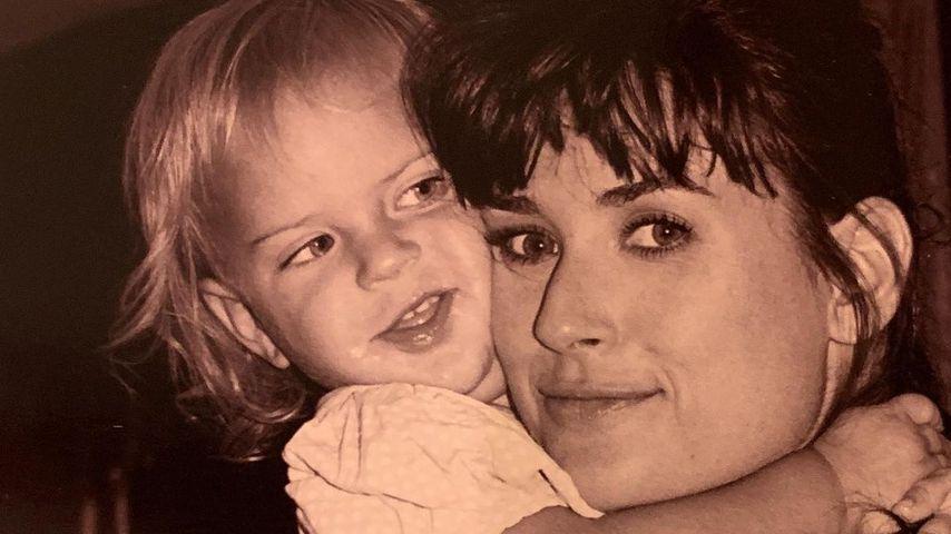 Mit Throwback-Pics: Demi Moore gratuliert Tochter Tallulah