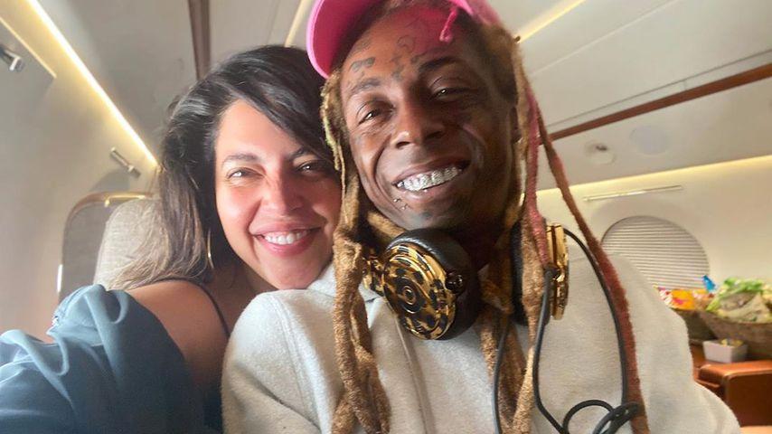 Denise Bidot und Lil Wayne im September 2020