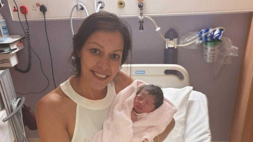 Denise Jones und ihre Tochter Dolly Pink