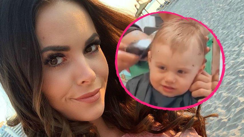 Denise Kappès' Sohn Ben (1) trägt jetzt einen Undercut!