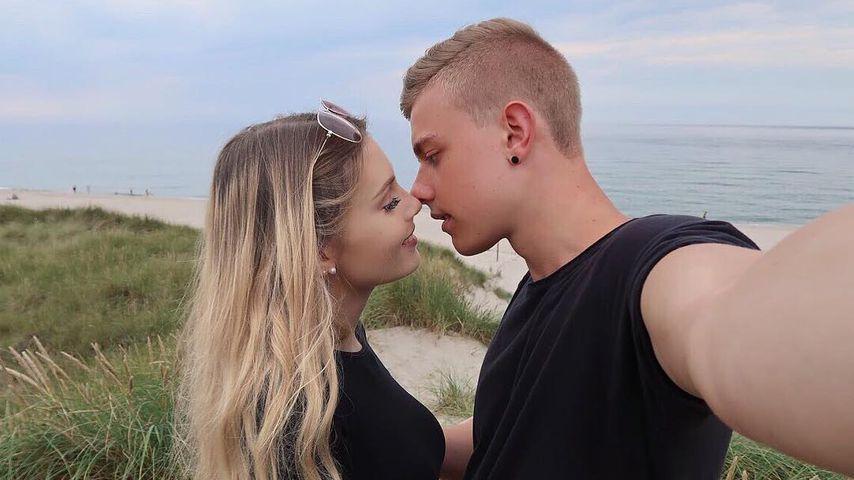 Romantischer Throwback: Jonas Ems' Freundin total verliebt