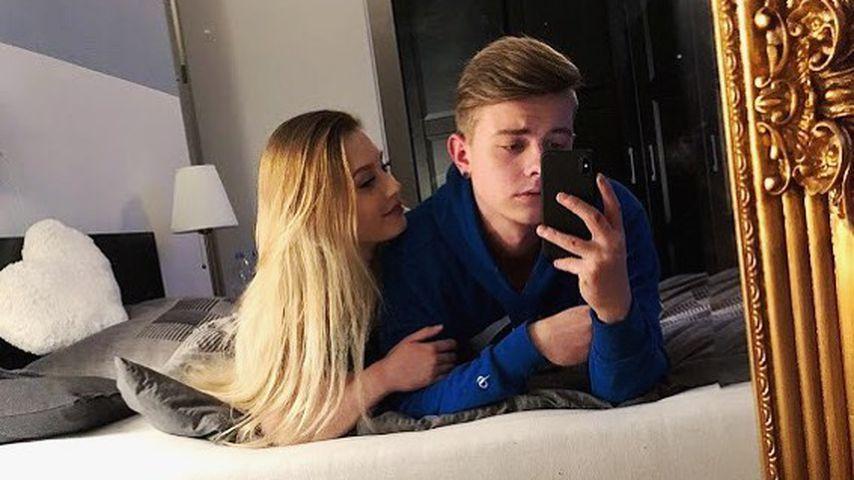 Influencerin Denise Mski und YouTuber Jonas Ems
