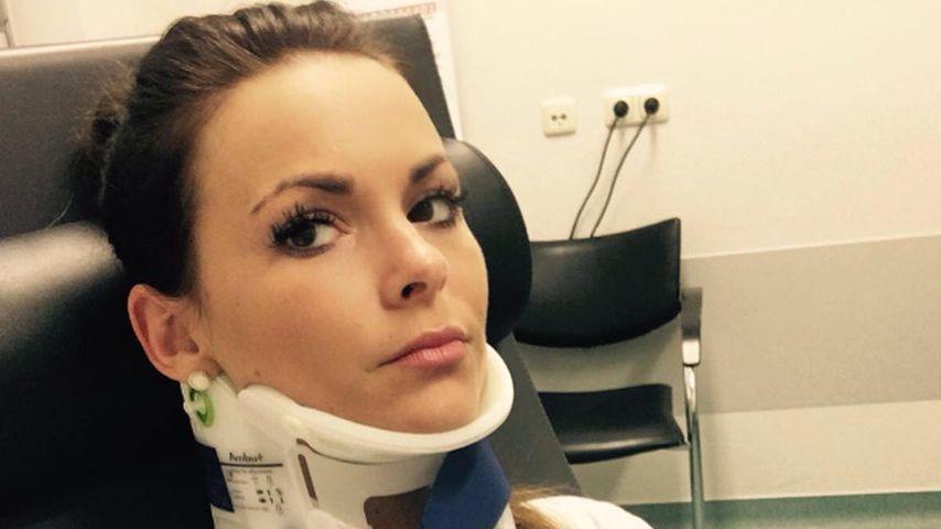 Heftiger Treppen-Sturz: Bachelor-Denise schwer verletzt!
