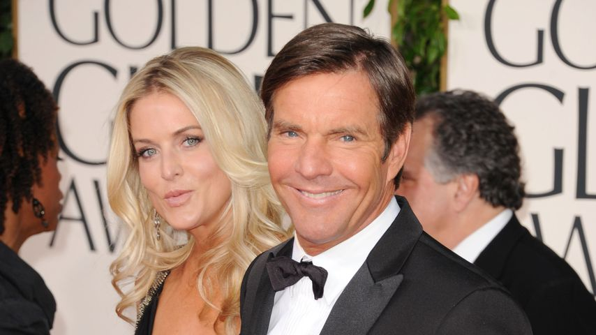 Kimberly und Dennis Quaid bei den Golden Globe Awards