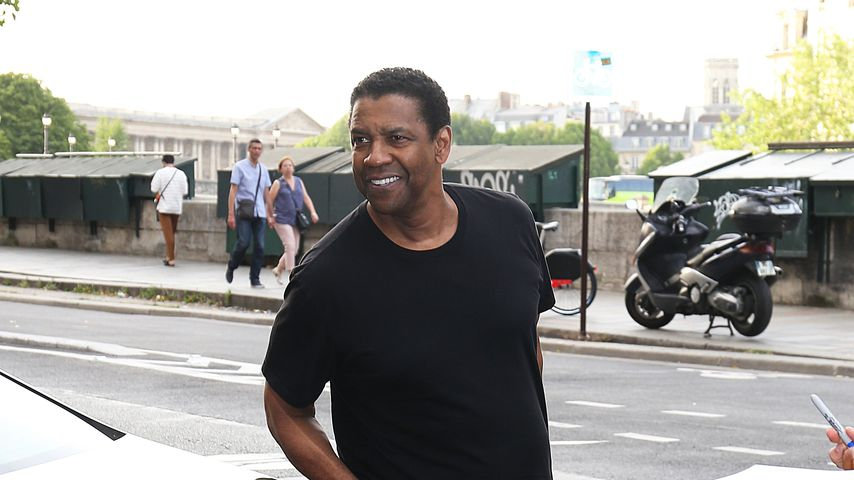 Denzel Washington bei Zoë Kravitz' Pre-Wedding-Dinner in Paris