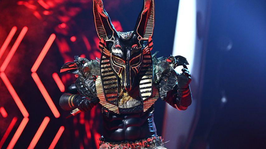"""Ben Blümel alias der Anubis bei """"The Masked Singer"""""""