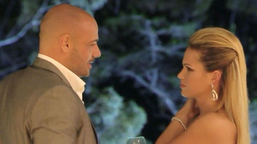 "Christian Tews und Angelina Heger beim ""Bachelor"" 2014"