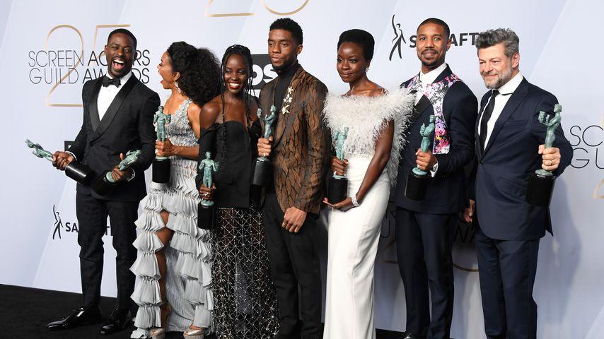 "Der ""Black Panther""-Cast bei den Screen ActorsGuild Awards 2019"