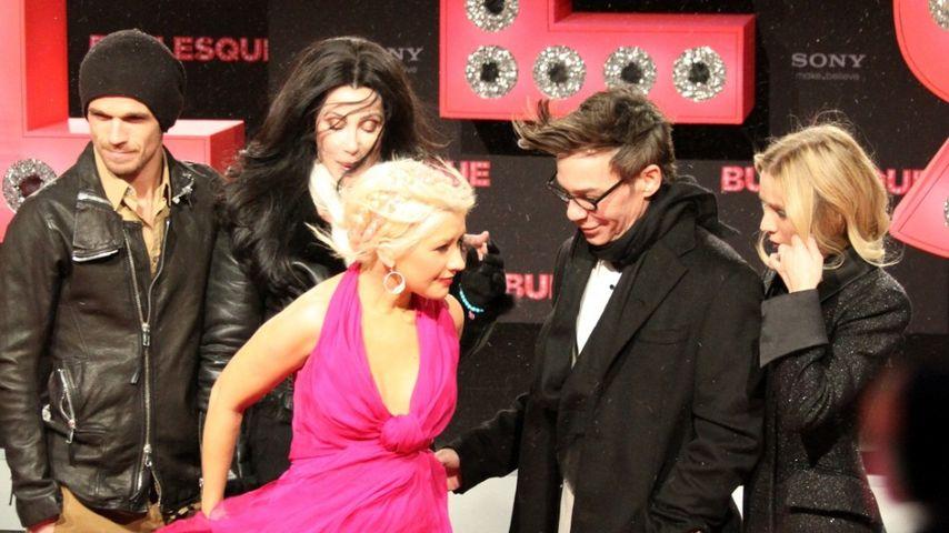Christina Aguilera: Pinkes Kleider-Chaos in Berlin
