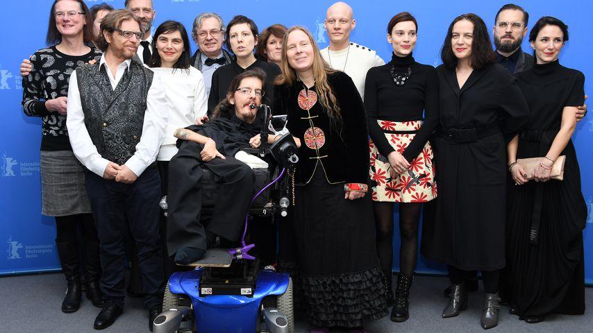 "Der Cast des Films ""Touch Me Not"" bei der Berlinale 2018"