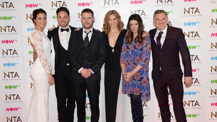 """Der Cast von """"Emmerdale"""" bei den National Television Awards in London"""