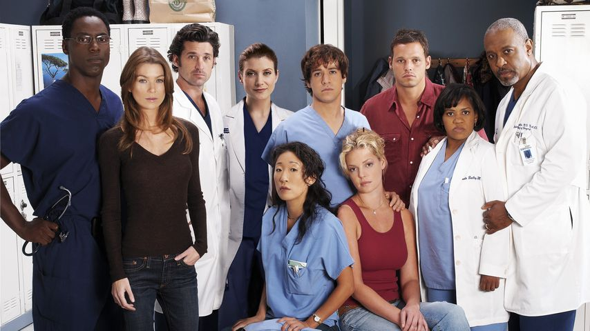 """Der Cast von """"Grey's Anatomy"""" 2005"""