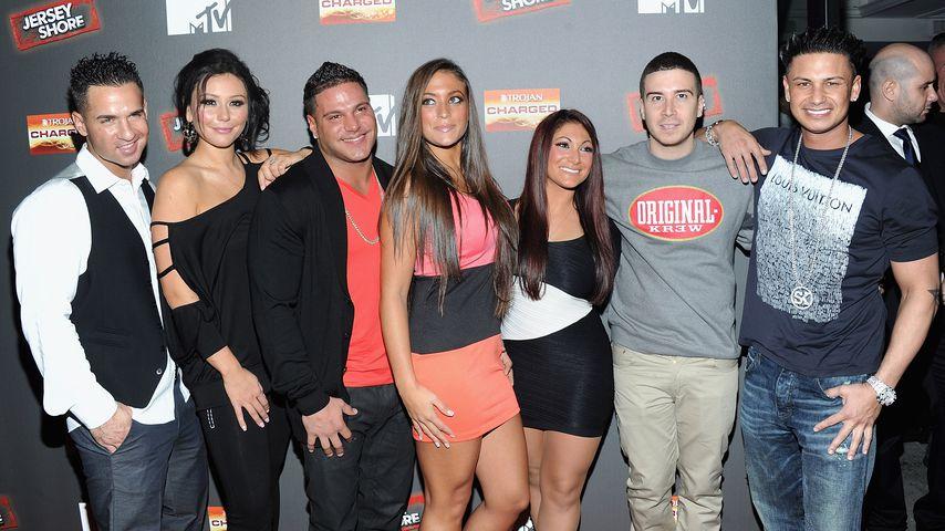 """Der Cast von """"Jersey Shore"""", 2004"""